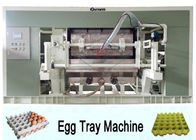 Pulp Molded Waste Paper Rotary Egg Tray Machine 220V - 450V ISO9001 Approved