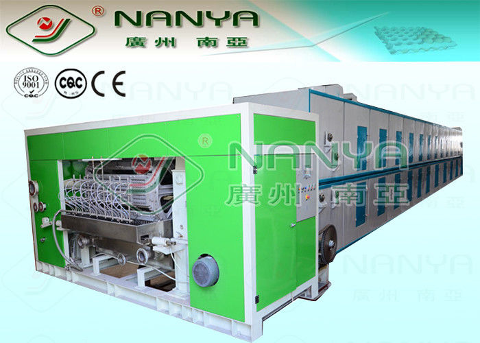 Waste Paper Moulding Pulp Machinery Egg Box Production Line 4000Pcs / H