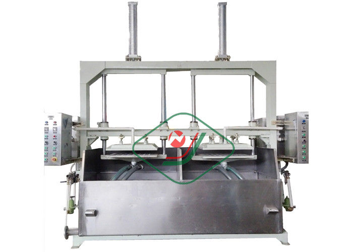 Manual Recycled Paper Pulp Egg Carton Making Machine 800Pcs/H