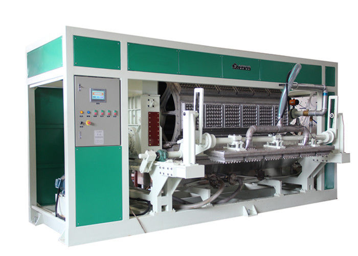 Disposable Pulp Molding Machinery Rotary Forming Equipment for 30 Cavities Egg Tray