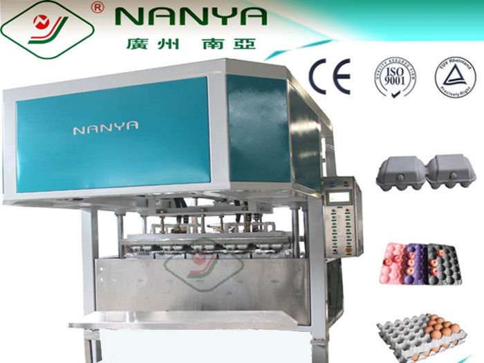 Full-auto Reciprocating Egg Tray / Carton Making Machine / 6-layer Drying Line 2400pcs/h