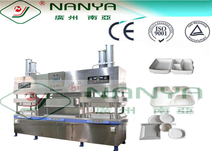 Disposable Paper Pulp Moulding Machinery , Tableware Making Machine 700~7000pcs/H